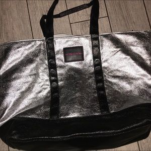 Victoria's Secret zip top tote